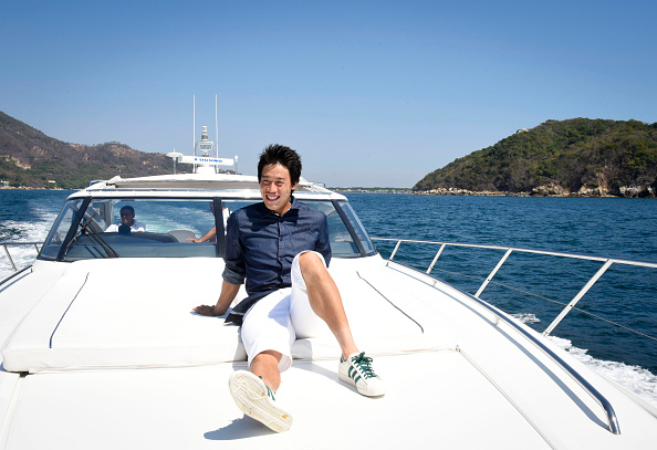 錦織 圭「Tennis Pro Kei Nishikori Enjoying Some Down Time In Acapulco, Mexico」:写真・画像(5)[壁紙.com]