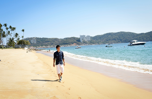 錦織 圭「Tennis Pro Kei Nishikori Enjoying Some Down Time In Acapulco, Mexico」:写真・画像(13)[壁紙.com]