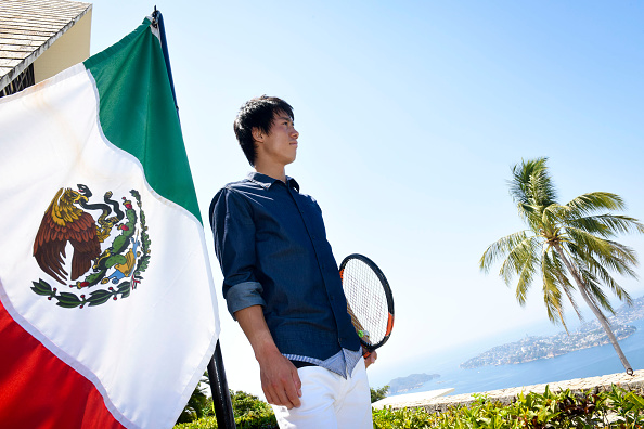 錦織 圭「Tennis Pro Kei Nishikori Enjoying Some Down Time In Acapulco, Mexico」:写真・画像(6)[壁紙.com]
