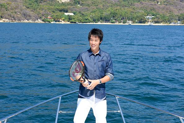 錦織 圭「Tennis Pro Kei Nishikori Enjoying Some Down Time In Acapulco, Mexico」:写真・画像(19)[壁紙.com]