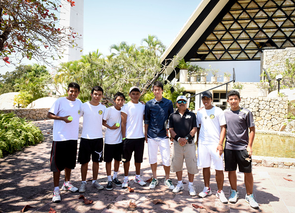 Kei Nishikori「Tennis Pro Kei Nishikori Enjoying Some Down Time In Acapulco, Mexico」:写真・画像(14)[壁紙.com]