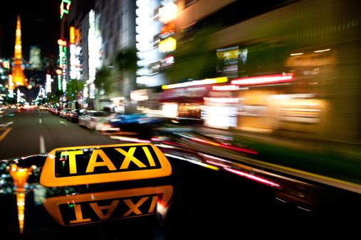 Taxi「speed of the night」:スマホ壁紙(3)
