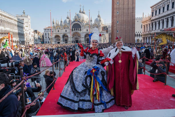 Venice Carnival「Flight of the Angel (Il Volo Dell'Angelo) - Venice Carnival 2018」:写真・画像(2)[壁紙.com]