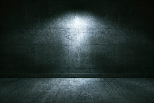 Spooky「Empty underground concrete room」:スマホ壁紙(1)