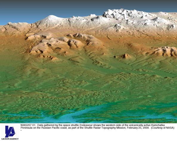 Kamchatka Peninsula「3-D Maps Emerging from Shuttle Mission」:写真・画像(18)[壁紙.com]