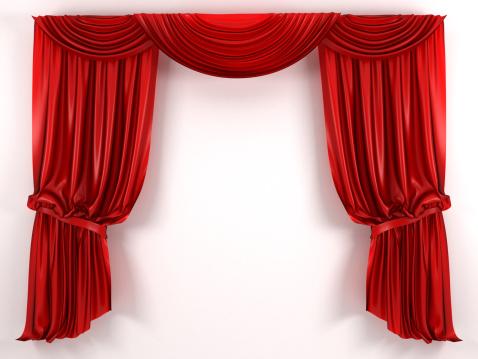 Curtain「red Curtain」:スマホ壁紙(10)