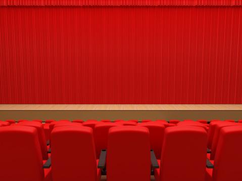 ベロア「赤のカーテン」:スマホ壁紙(8)