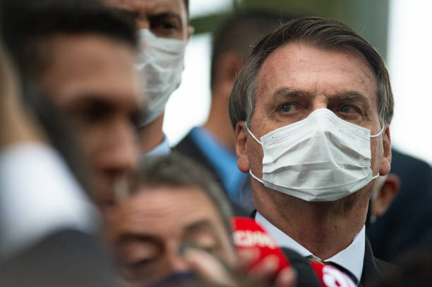 President Jair Bolsonaro Meets with Members of the Supreme Court (STF) Amidst the Coronavirus (COVID - 19) Pandemic:ニュース(壁紙.com)