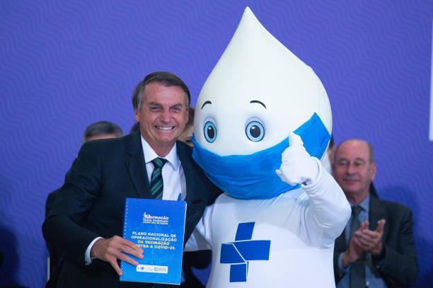 Bolsonaro Participates in the COVID-19 Vaccine National Plan Launch:ニュース(壁紙.com)