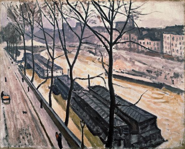 Overcast「Paris In Winter Quai Bourbon」:写真・画像(8)[壁紙.com]
