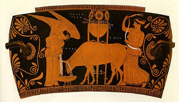 Greek red figure vase:ニュース(壁紙.com)