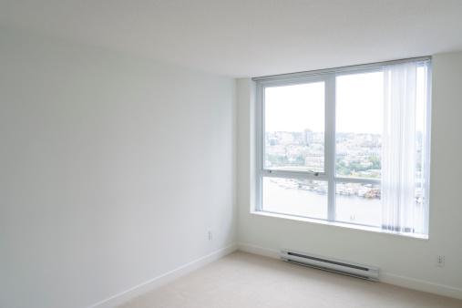 Corner「Empty bedroom, new condo apartment」:スマホ壁紙(19)