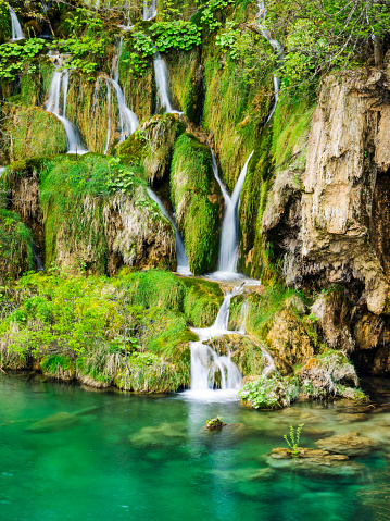 UNESCO「Waterfalls in the Parco nazionale dei laghi di Plitvice」:スマホ壁紙(3)