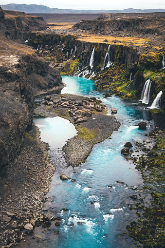 Basalt「Waterfalls In Iceland」:スマホ壁紙(11)