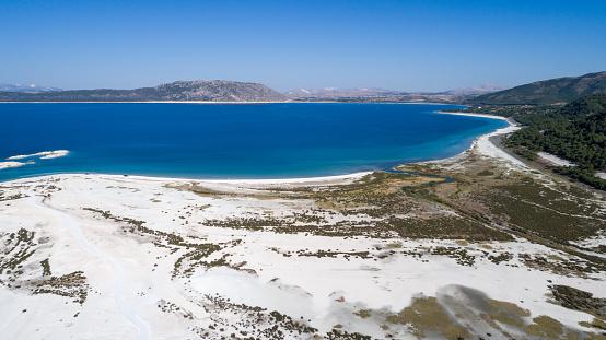 インド洋「こそ湖ブルドゥル トルコの空撮写真」:スマホ壁紙(4)