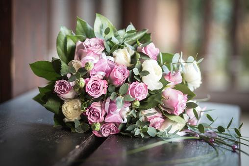 Flower Arrangement「Bridal bouquet」:スマホ壁紙(11)