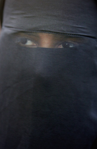 Nikab「Muslims Demonstrate Against Ministers Comments On Veiling」:写真・画像(15)[壁紙.com]