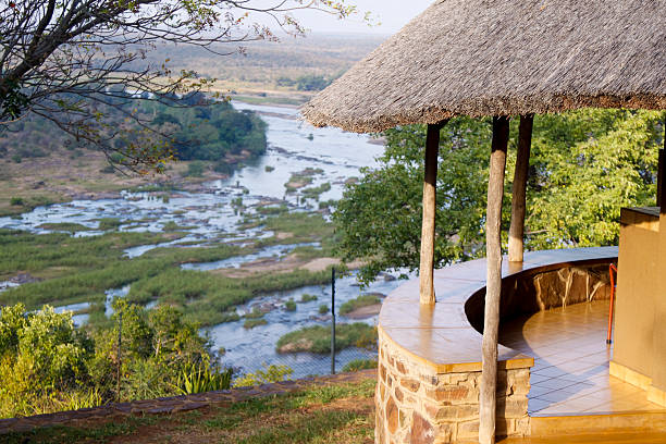 Olifants camp in Kruger Park, South Africa:スマホ壁紙(壁紙.com)