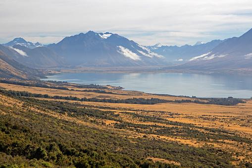 Mt Cook「Lake Ohau」:スマホ壁紙(15)