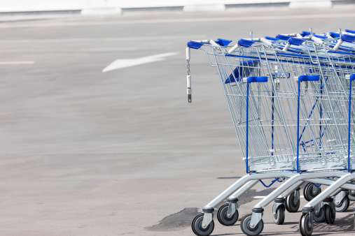 Parking Lot「Shopping carts」:スマホ壁紙(7)