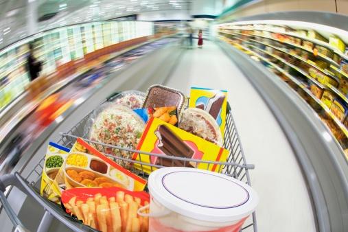 Souvenir「Shopping cart with food」:スマホ壁紙(15)