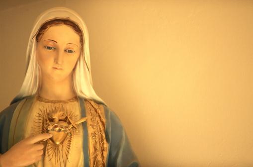 Virgin Mary「Statue of Virgin Mary」:スマホ壁紙(10)