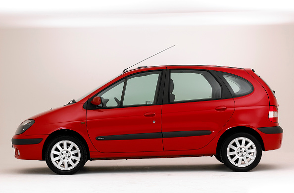 Side View「2003 Renault Scenic」:写真・画像(1)[壁紙.com]