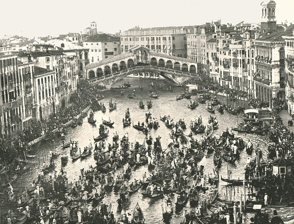 Grand Canal - Venice「Fete Day On The Grand Canal」:写真・画像(19)[壁紙.com]