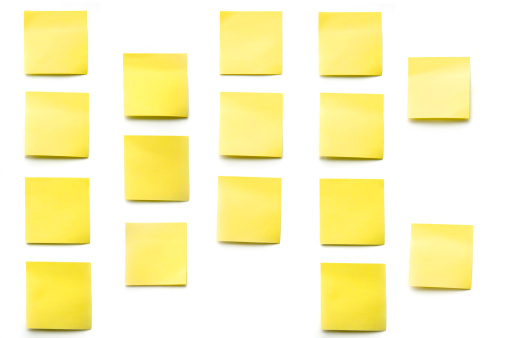 Adhesive Note「post its」:スマホ壁紙(14)