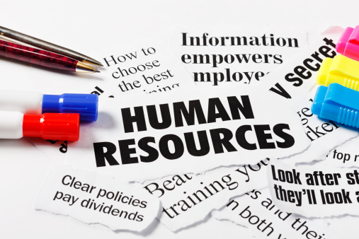 Human Resources「Headlines on Human Resources and employment issues, with pens」:スマホ壁紙(19)