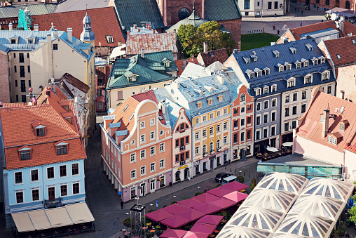 UNESCO「Latvia, Riga, Old town architecture」:スマホ壁紙(8)