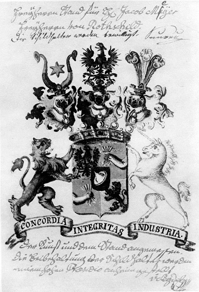 記章「Rothschild Family Coat of Arms」:写真・画像(2)[壁紙.com]