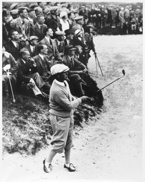 Best shot「Bobby Jones playing a shot, c1920s.」:写真・画像(1)[壁紙.com]