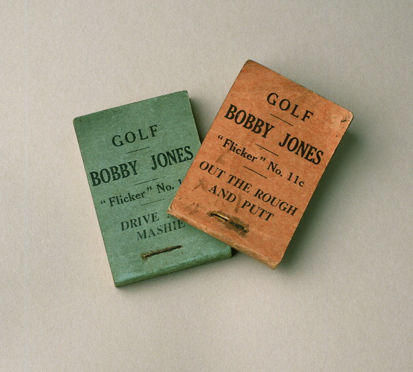Best shot「Bobby Jones flick books, 1930s.」:写真・画像(2)[壁紙.com]