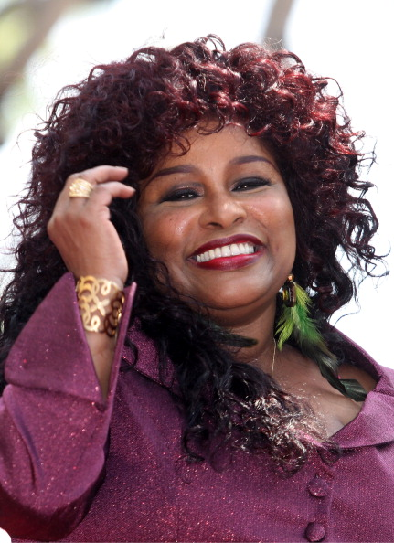 Two-Toned Hair「Chaka Khan Honored On The Hollywood Walk Of Fame」:写真・画像(5)[壁紙.com]