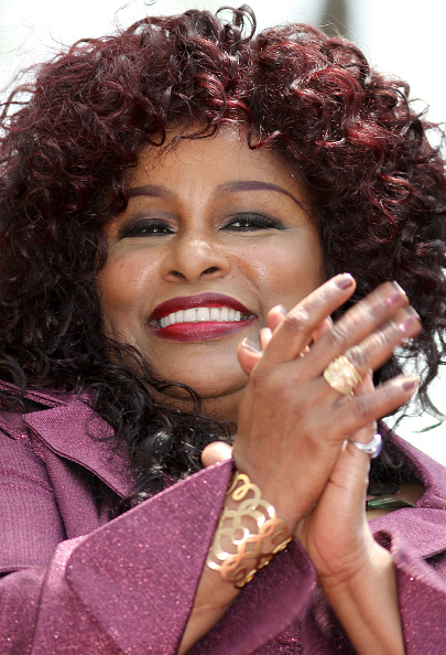 Two-Toned Hair「Chaka Khan Honored On The Hollywood Walk Of Fame」:写真・画像(19)[壁紙.com]
