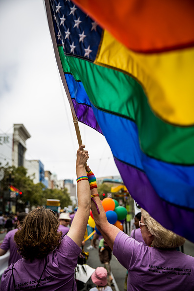Celebration Event「San Francisco Host Its Annual Gay Pride Parade」:写真・画像(11)[壁紙.com]
