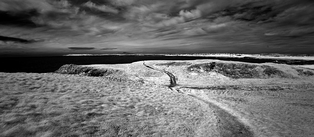 アイリッシュ海「Landscape photograph looking north across Rhosneigr bay」:スマホ壁紙(13)