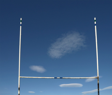 Wooden Post「Landscape photograph if Rugby goal posts」:スマホ壁紙(13)