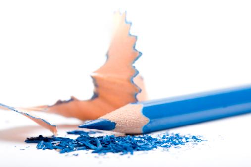 Broken「Shaved Blue Pencil」:スマホ壁紙(5)