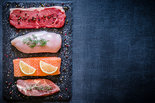 Salmon - Animal「Different types of animal protein」:スマホ壁紙(7)