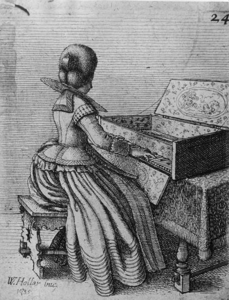 17th Century「At The Clavier」:写真・画像(1)[壁紙.com]