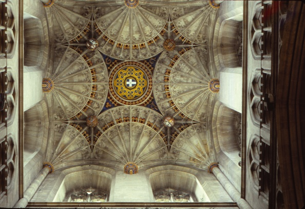 Ceiling「Fan Vaulting In Canterbury Cathedral」:写真・画像(11)[壁紙.com]