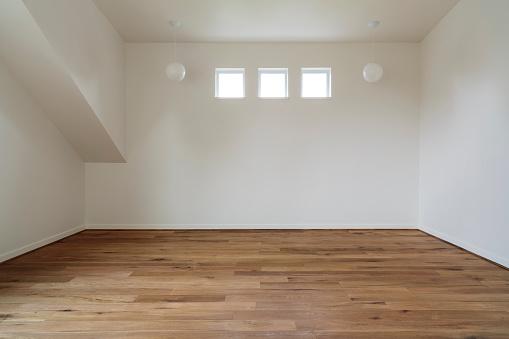 Domestic Room「Unfurnished Bedroom」:スマホ壁紙(2)