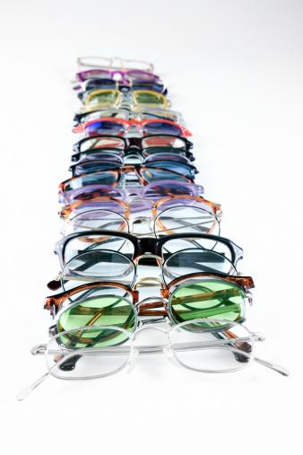 レンズ「Row of eyeglasses」:スマホ壁紙(15)