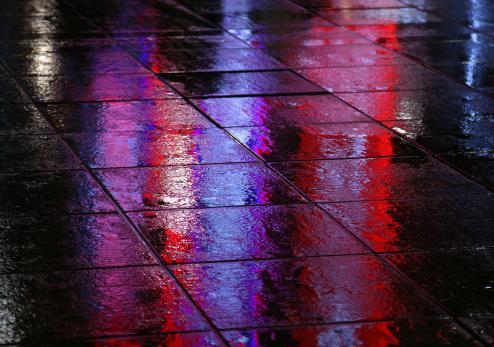 Paving Stone「Sidewalk In The Rain」:スマホ壁紙(18)