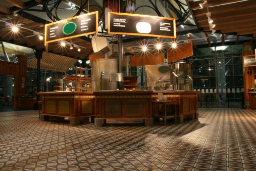 Fast Food Restaurant「Airport restaurant self service」:スマホ壁紙(15)
