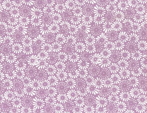 Floral Pattern「Antique Handmade Screenprinted Paper Texture」:スマホ壁紙(13)