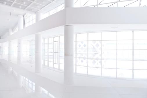 Architectural Column「Office corridor」:スマホ壁紙(12)