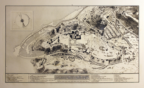 Alhambra - Spain「General Plan Of The Fortress Of The Alhambra」:写真・画像(0)[壁紙.com]